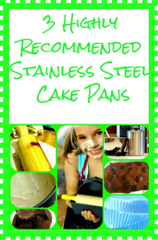 Stainless Steel Cake Pans Starches And Greens