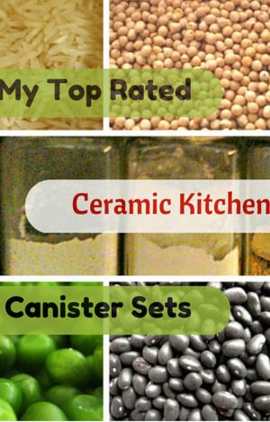 Ceramic Kitchen Canister Sets