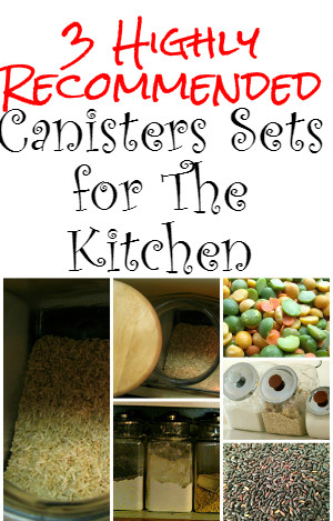 Canisters Sets for The Kitchen
