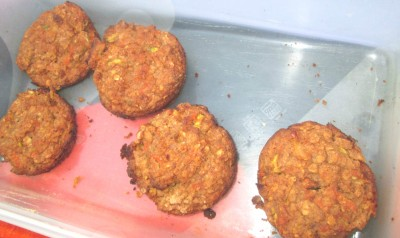 McDougall compliant Veggies Muffins - No Oil