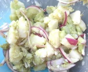 No Oil Potato Salad