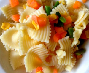 Starch SOlution- Pasta with Vegetables