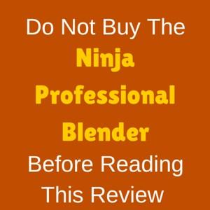 Total Crushing Ninja Professional Blender BL610 Review