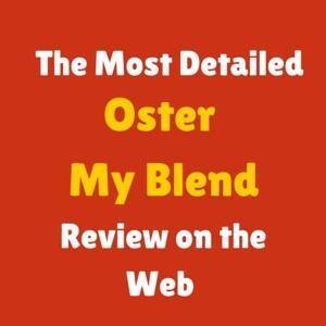 Oster BLSTPB-WBL My Blend Review