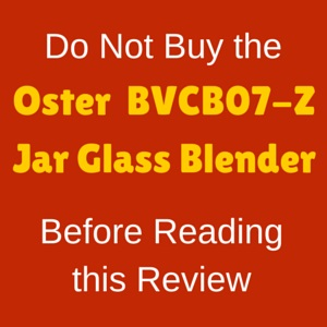 Oster BVCB07-Z review